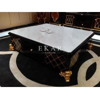 Slate Coffee Table Marble Chess Table Modern Glossy Furniture Table Stone Coffee Table TT-