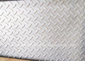 China 300 Series Embossed Stainless Steel Sheets / Embossed Finish For Floor Plate on sale