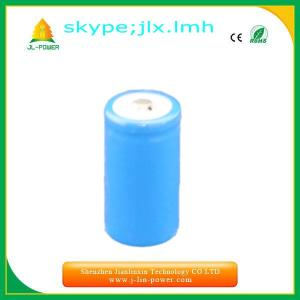 China 3.7v18350 lithium rechargeable  protected     battery on sale