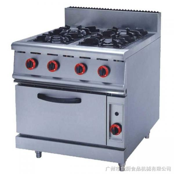 JUSTA ZH RQ 4 Stainless Steel Kitchen Equipments 4.8KW PNG Gas Burner With  Oven Images