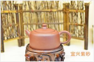 China Lantern Shape Purple Clay Teapot Set , Chinese Yixing Teapot Eco - Friendly on sale