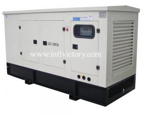 China 68 KW Industrial Silent Diesel Generators 50HZ / 60HZ 6 Cylinders Chinese Engine on sale