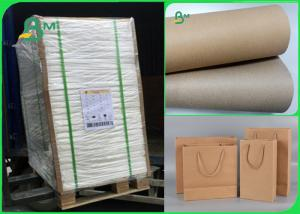 China Width 70×100cm Recycle Pulp 110gsm - 220gsm Kraft Liner Paper For Packing on sale