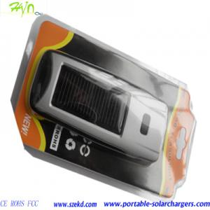 China 800mAh Lithium  Emergency Solar Charger For Cell Phone, Digital Camera, PDA, MP3,MP4 on sale