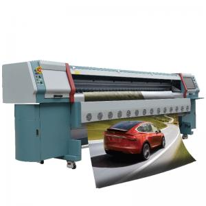 China High Speed Digital Solvent Printer , Konica Solvent Printer Max Printing Width 3.2m on sale
