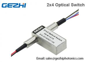 China 2x4 Fibre Optical Switches Duplex 1x2 Opto-Mechanical In Relay Hub Module on sale