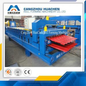 China Corrugated / Ibr Metal Roof Sheet Cold Roll Forming Machine CE Certification on sale