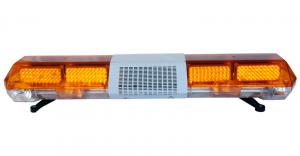 China LED warning police Lightbar with 0.25watt LEDs, 16 flash patterns, PC housing, with built-in speaker on sale