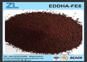 China DTPA Acid / N'-bis (2-hydroxy-phenyl)acetic acid ( EDDHA-FE6 ) Cas 16455-61-1 on sale