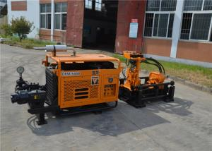 China Horizontal Directional Trenchless Drilling Rig Machine With Mud Pump on sale