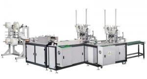 China Three Layer Disposable Mask Making Machine Guaranteed One Year on sale