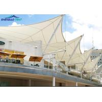 China Architecture Fabric Membrane Structures For Sports Stand , Modular Tensile Structure on sale