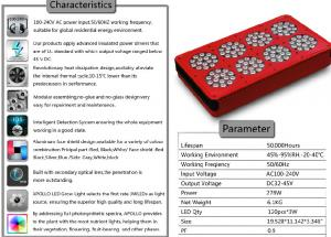 China green grow led lights 360w led grow light full spectrum 2-11 bands Customized for Tomato on sale