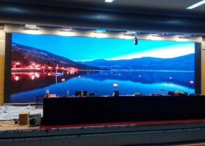 China Large P2.5 Full Colour Led Display , Commercial Led Screens 1R1G1B Color Configuration on sale