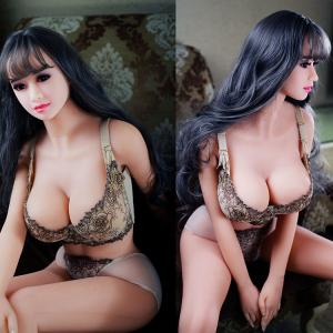 China Lifelike Big Breast Sex Doll Metal Skeleton Realistic Silicone Love Doll For Man on sale