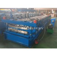YX-686 762 Double Layer Deck Profile Roof Roll Forming Machine Popular In Africa
