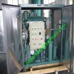 単段の真空の変圧器の油純化器、オイルのろ過、耐圧防爆CTの絶縁材オイルの再生の植物