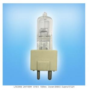 China Osram 64643 Medlical Lamp 24V 150W GY9.5 Surgical Light Bulb for Operating Light on sale