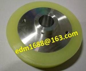 China 3054678 Sodick S417 Urethane Roller OD100x19dx20mm for sodick edm consumables, sodick edm spare parts on sale