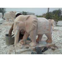 China elephant stone carving sculpture on sale