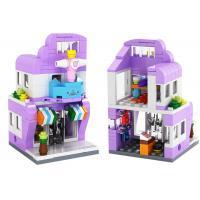 China Educational Children's Play Toys Interlocking City Scene Building Blocks 144 Pcs on sale