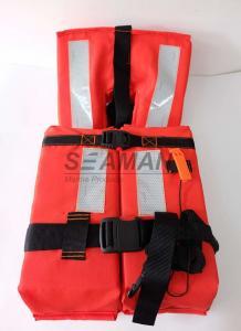 China chaqueta costera SOLAS 74/96 CCS/MED de la vida marina 150N con la cinta reflexiva on sale