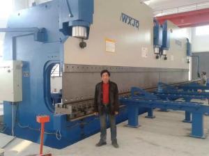 China Metal Frame Hydraulic Cnc Sheet Metal Bending Machine With 18 Meters on sale