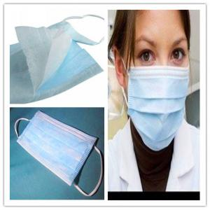 China 3 ply disposable face mask with eye shield on sale