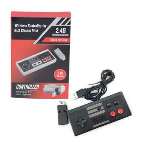 Quality 2.4G Wireless Turbo NES Classic Game Controller With 400mA Lithium Battery for sale