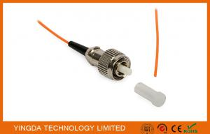 China Fiber Optic Pigtail FC PC Mulitmode OM2 50/125 Simplex Orange 900um LSZH G655 on sale