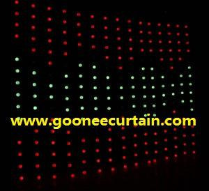 China Hot Sell Stage Equipment LED Video Vision Curtain on sale