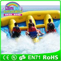 China flying fish boat pvc inflatable banana boat flying fish boat for sale on sale