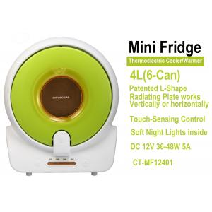 China Mini Fridge, 12V Thermoelectric Portable Cooler & Warmer 4L,6-Can on sale