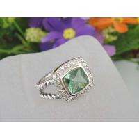 Handmade 925 Sterling Silver Cubic Zirconia Jewelry Ring