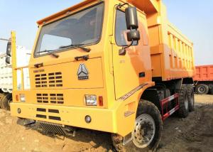 China 371HP Off Highway Truck , Yellow Color Heavy Duty Tipper Trucks 70 Tons Load on sale