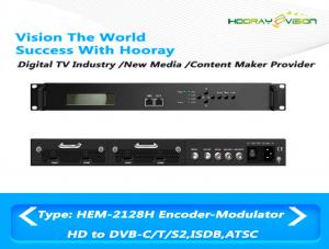 China Support 4 CAS Digital TV Modulator All-In-One With Encoding Multiplexing Modulator on sale