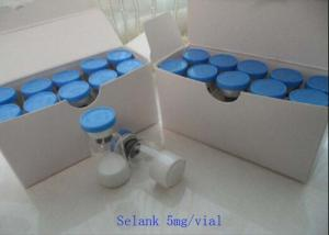 China Injectable Peptide Supplement Selank 5mg/vial Nootropic Drug for Increasing Energy on sale