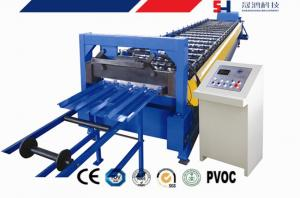China Manual Decoiler Cold Roll Forming Machine , Corrugated Sheet Roll Forming Machine on sale
