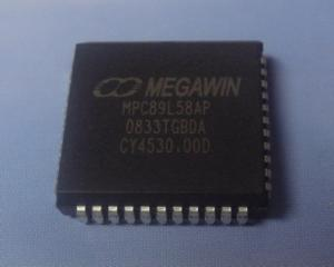China Megawin 8051 microprocessor 89L58AP MCU on sale
