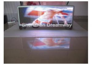 China SMD PH 5 Taxi Full Color LED Display VOB MP4 FLV Showing / Outdoor Advertising P5 LED Display on sale
