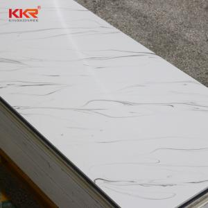 China artificial stone acrylic solid surface for acrylic bathroom wall panels on sale