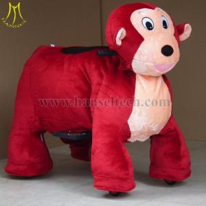 China Hansel China Wholesale electrical toy animal riding electric scooter motorized animals for game center on sale