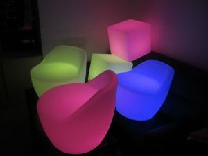 China RGB LED furniture sofa on sale