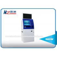 Windows 8 / 10 OS Coin Counting Kiosk Multi Touch Screen Wifi / 3G / Bluetooth Connection