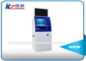 China Windows 8 / 10 OS Coin Counting Kiosk Multi Touch Screen Wifi / 3G / Bluetooth Connection on sale