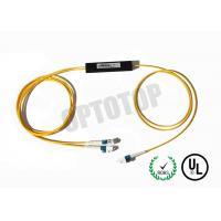 Single Mode Fiber Coupler 1X2 LC Fbt Coupler Φ2 Length Customized Package C