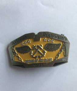 China Cheap price customized zinc alloy metal buckle with 3D design on sale