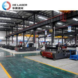 China High Powered Fiber Laser Cutting Machine , Galvanized Steel Sheet Cutting Machine on sale