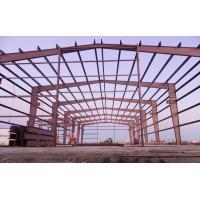 China EPS PU Sandwich Panels Steel Building Frame , Steel Frame Office Buildings on sale
