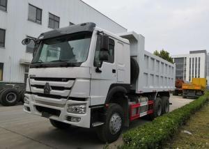 China Sinotruk howo7 6x4 White Heavy Duty Dump Truck on sale